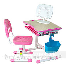 Комплект парта и стул-трансформеры FunDesk Piccolino Pink, фото 3