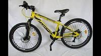 """Велосипед ARDIS CARTER 24"""" алюминевый13"""" жёлтый, фото 1"""
