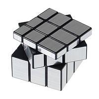 Кубик Рубика YJ Mirror Cube | Зеркальный кубик silver