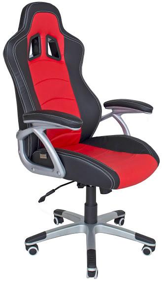 Кресло геймера Richman Коннект, черно-красное