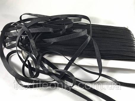 Резинка для бретелей цвет черный 5 мм, фото 2