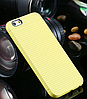 Желтый силиконовый чехол для Iphone 6 6S