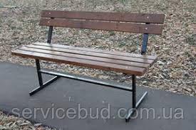 Уличные скамейки со спинкой Венеция 1.6, фото 1
