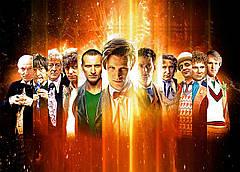 Картина GeekLand Doctor Who Доктор Кто все 60х40 DW 09.002