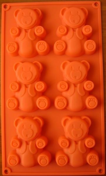 Форма силиконовая для выпечки Empire Мишки