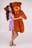 Большой плюшевый медведь Тедди  коричневый (140 см)