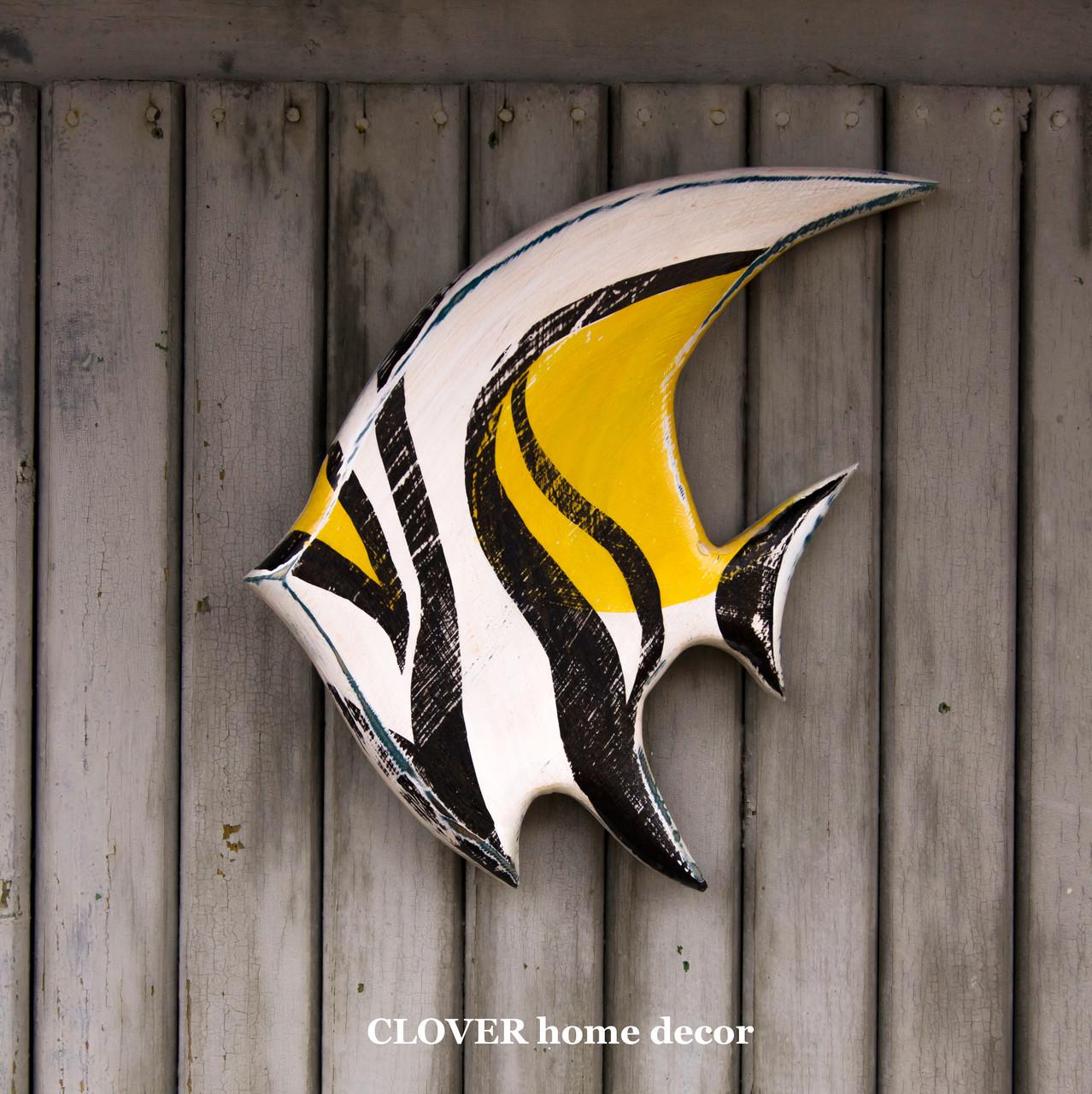 Деревянная рыба мавританский идол