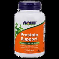 Витамины NOW Foods Prostate Support 90 гелевых капсул