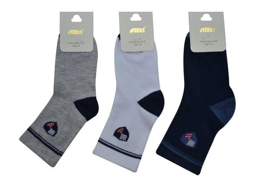 ARTI & KATAMİNO  Носки  для мальчика хлопчатобумажные Jaguar (3-4 года)