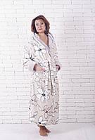 Халат махровый женский лилия, фото 1