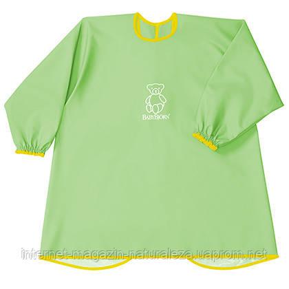Рубашка для игр и кормления BabyBjorn зеленый цвет, фото 2