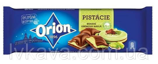 Молочный шоколад Orion с фисташками, 240 гр