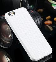 Белый силиконовый чехол для Iphone 6 6S