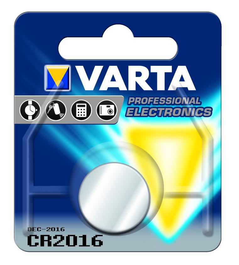 Батарейка VARTA CR 2016 BLI 1 LITHIUM (6016)