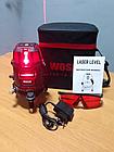 WOSAI 5 линий 6 точек 4H1V ❌ КРАСНЫЙ ЛУЧ ➜ до 50м 🔴 лазерный уровень нивелир WS-A5 ПОЛНАЯ КОМПЛЕКТАЦИЯ, фото 6