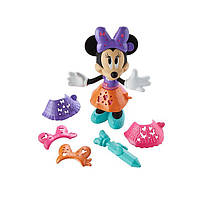 Fisher-Price Дисней Минни Маус  кукла 24,5см- Трафарет N 'Стиль  Disney Minnie Mouse Stencil N' Style Minniе