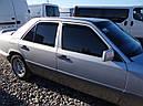Дефлекторы окон (ветровики)  Mercedes E-klasse 124 1985-1996 Sedan 4шт (Heko), фото 2