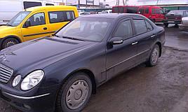 Дефлекторы окон (ветровики)  Mercedes E-klasse 211 2003-2009 Sedan 4шт (Heko)