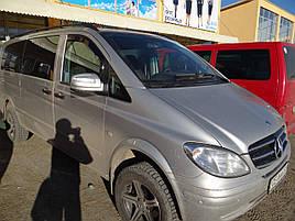 Дефлекторы окон (ветровики)  Mercedes Vito Viano 639 2003-2015 (вст) 2шт (Heko)