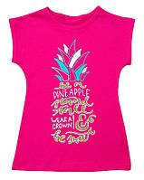 Летняя футболка для девочки , фото 1