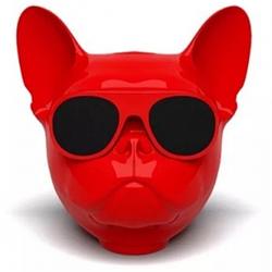 Bluetooth-колонка Aerobull DOG Head Mini , c функцией speakerphone Red