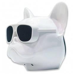 Bluetooth-колонка Aerobull DOG Head Mini , c функцией speakerphone White