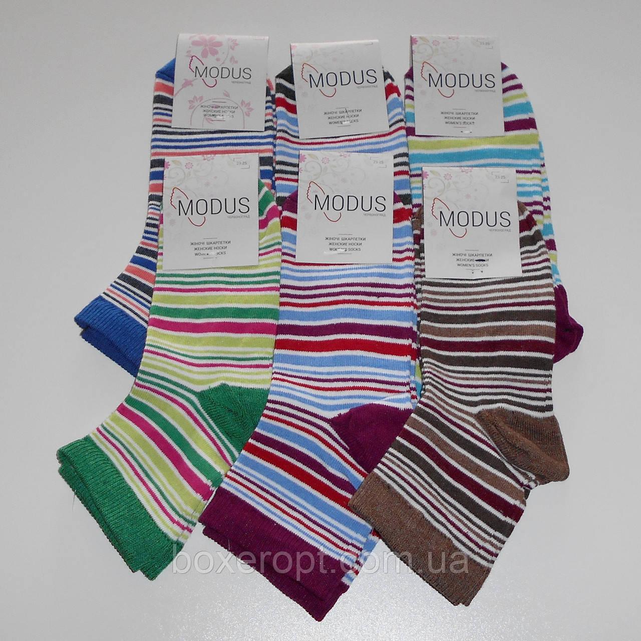 Женские носки Modus - 6.00 грн./пара (полоска)