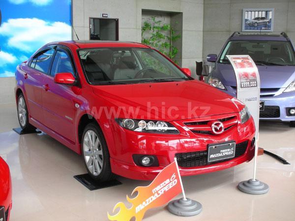 Дефлекторы окон (ветровики) Mazda 6 2002->  Sedan 4шт (HIC)