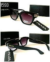 Женские очки  Prada черные новинка