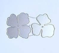 """Ножи для вырубки набор из 2 шт """"Цветок"""" для фоамирана, бумаги, фетра для скрапбукинга"""
