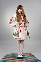 Український національний костюм для дівчинки №18(122-160см.)