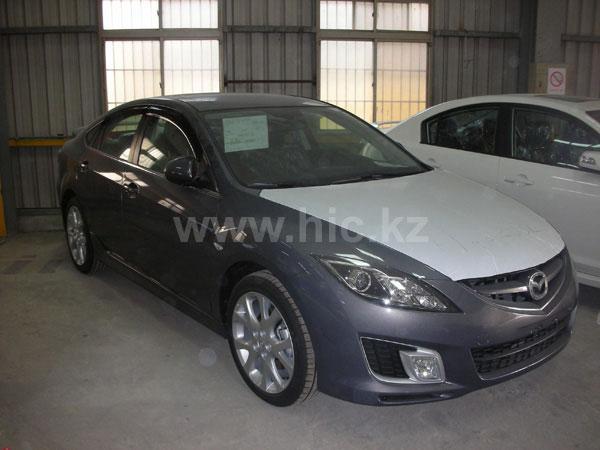 Дефлекторы окон (ветровики) Mazda 6 2008->  Sedan 4шт (Hic)