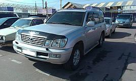 Дефлектор капота (мухобойка) Lexus LX470 (1998-2007) (HIC)