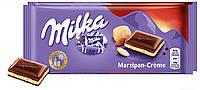 Шоколад с марципановым кремом Milka Marzipan-Creme Швейцария 100г