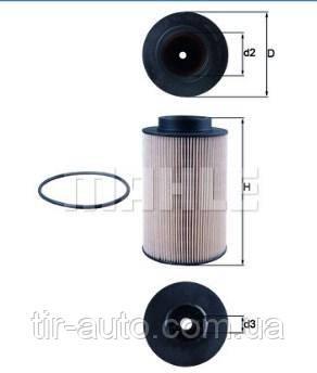 Фильтрующий элемент топливного фильтра MAN ( MAHLE ) KX191/1DECO