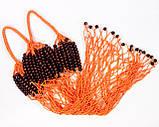 Шопер  сумка - Сумка для покупок - ЭКСКЛЮЗИВНАЯ сумки - Французская сумка -Сумка с бусинами, фото 4