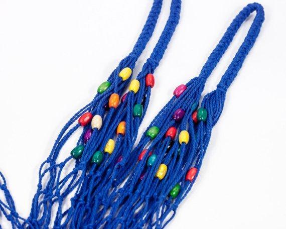 Шопер  сумка - Сумка для покупок - ЭКСКЛЮЗИВНАЯ сумки - Французская сумка -Сумка с бусинами