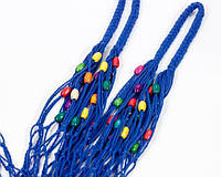 Шопер  сумка - Сумка для покупок - ЭКСКЛЮЗИВНАЯ сумки - Французская сумка -Сумка с бусинами, фото 1