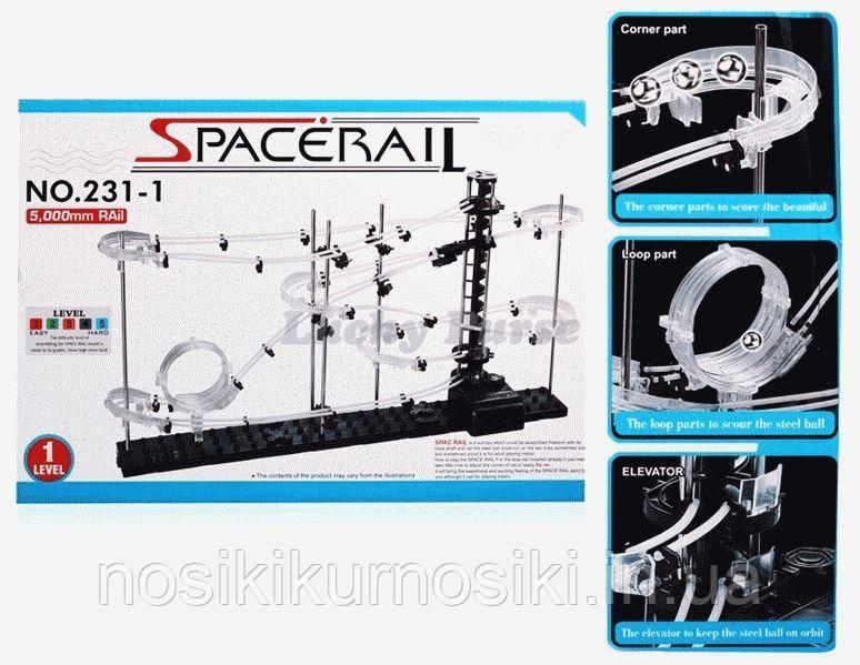 Конструктор Космические Горки (космическая трасса) SpaceRail 1-й уровень сложности