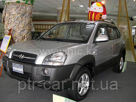 Дефлекторы окон (ветровики) Hyundai Tucson 2004-2015 (HIC)