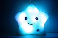 Подушка Звездочка с подсветкой, Мягкая игрушка светящаяся звезда!, фото 2