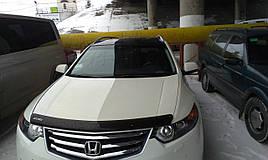Дефлектор капоту (мухобійка) на HIC Honda Accord 2008->