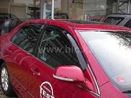 Дефлектори вікон (вітровики) Honda Accord 2008 -2013 4D Sedan 4шт (HIC)