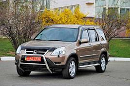 Дефлекторы окон (ветровики) Honda CR-V 2002-2007 4D 4шт (HIC)