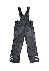 Штаны на подтяжках зимние для мальчика от 6 до 9 лет