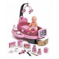 Кукла и центр для ухода Smoby Baby Nurse со звуком и светом 3+ (220317)