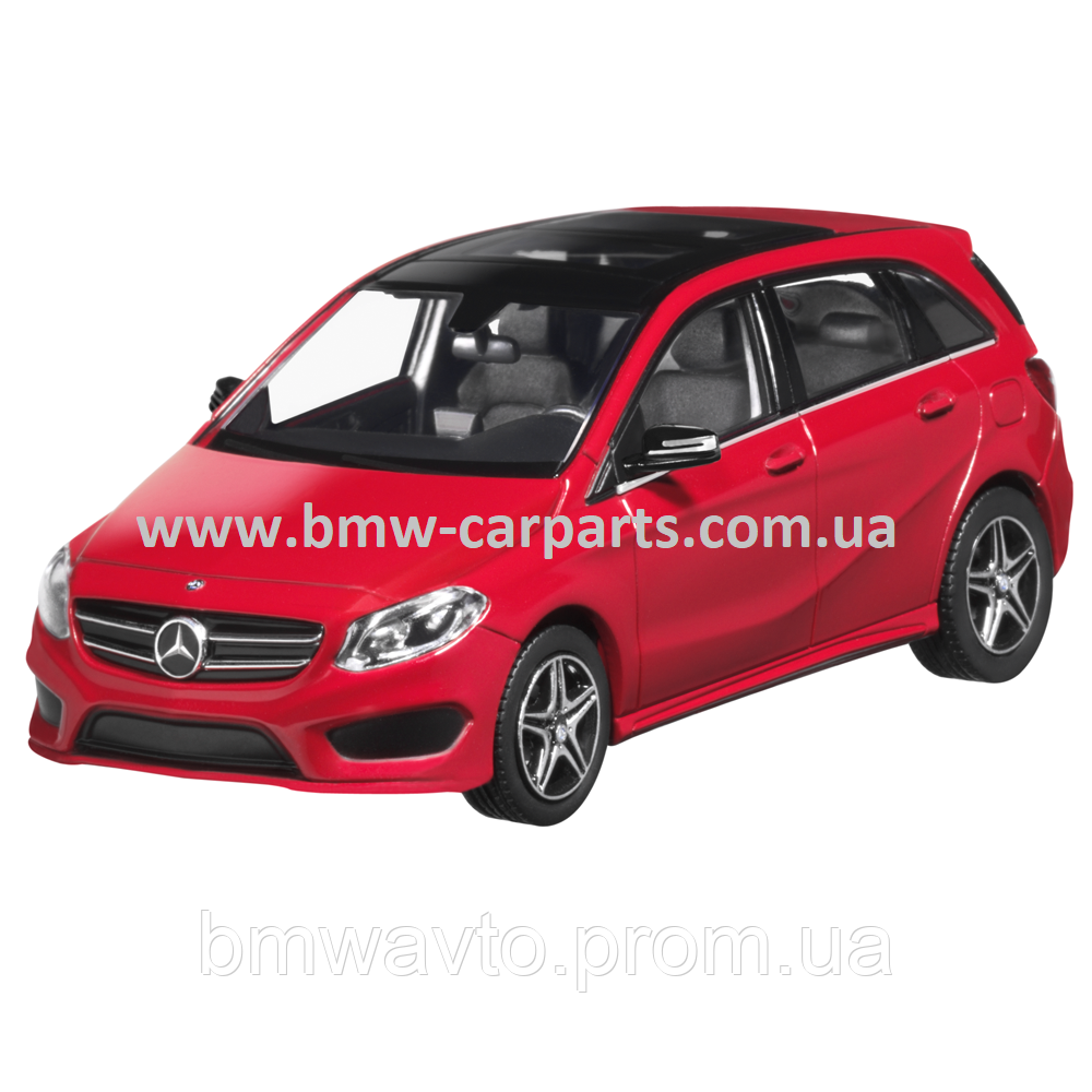 Модель Mercedes-Benz B-Class AMG Styling, Jupiter Red, 1:43 Scale