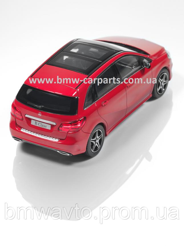 Модель Mercedes-Benz B-Class AMG Styling, Jupiter Red, 1:43 Scale, фото 2