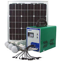 Туристические системы освещения на солнечных батареях