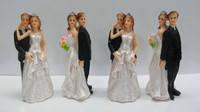 Фигурка на свадебный торт, 4 шт, 8 см